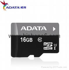 威剛(ADATA)TF卡16G Micro/SD卡class