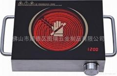 不鏽鋼外殼環保紅遠外電陶爐