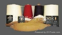 木棉(环锭纺)纱线