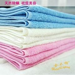 野生木棉潔膚美容面巾