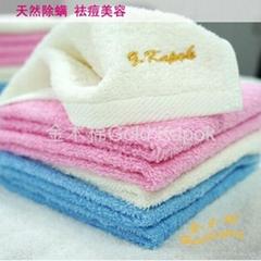 野生木棉潔膚美容方巾