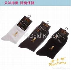 野生木棉休閑襪
