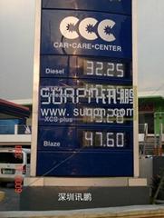 LED gas price display  Long life span