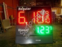 LED Gas Price Changer Professor