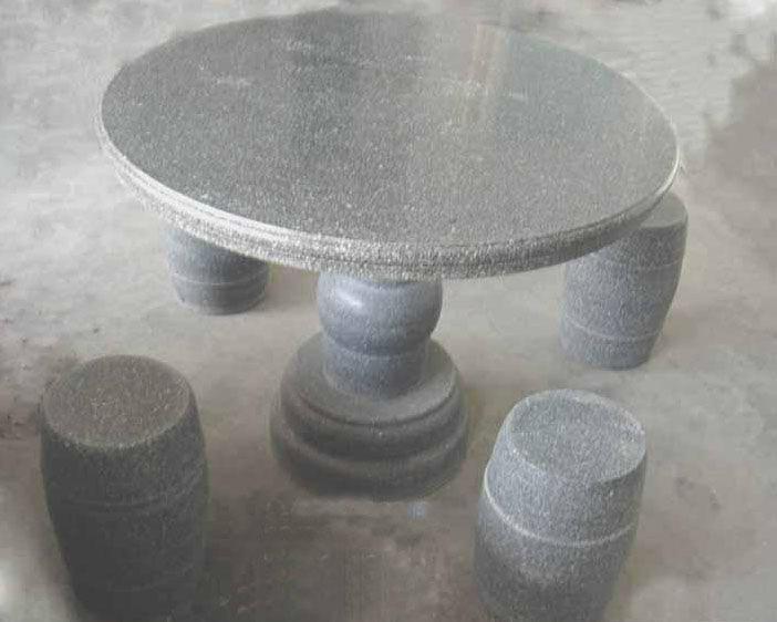 石桌石椅子 2