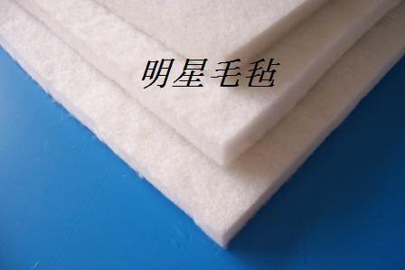 针刺羊毛毡 1