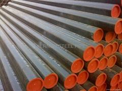 API5L X60 LSAW welded steel line pipe