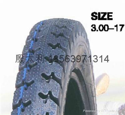 高品質摩托車輪胎300-17 1