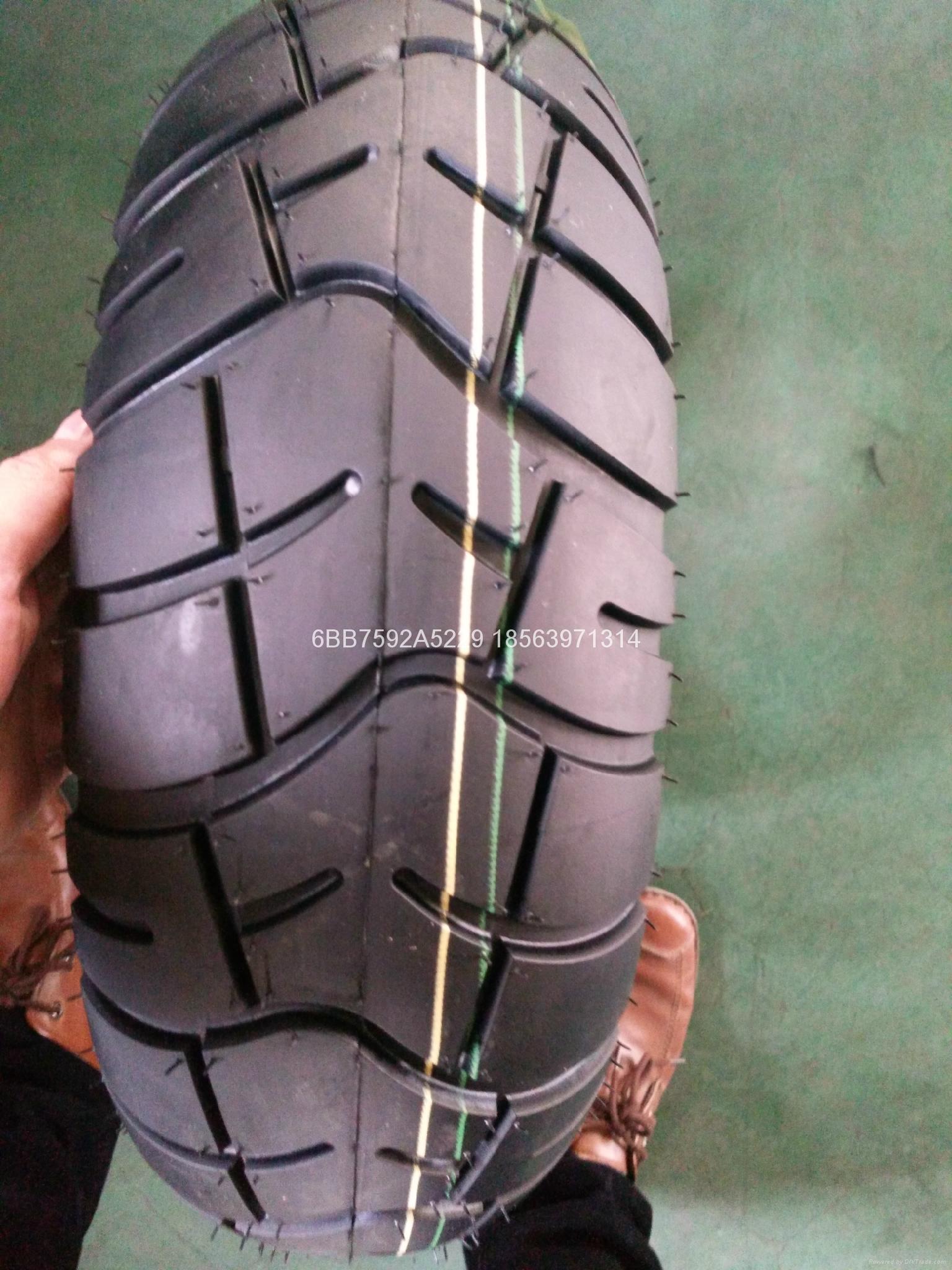 高品質摩托車輪胎110/90-17 2