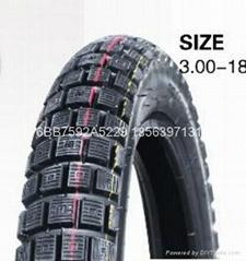 高品質摩托車輪胎300-18