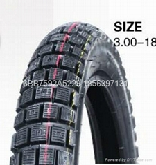 Good quality motorcycle tire 300-18