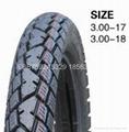 高品質摩托車輪胎300-18 2