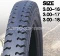 高品質摩托車輪胎300-18 3