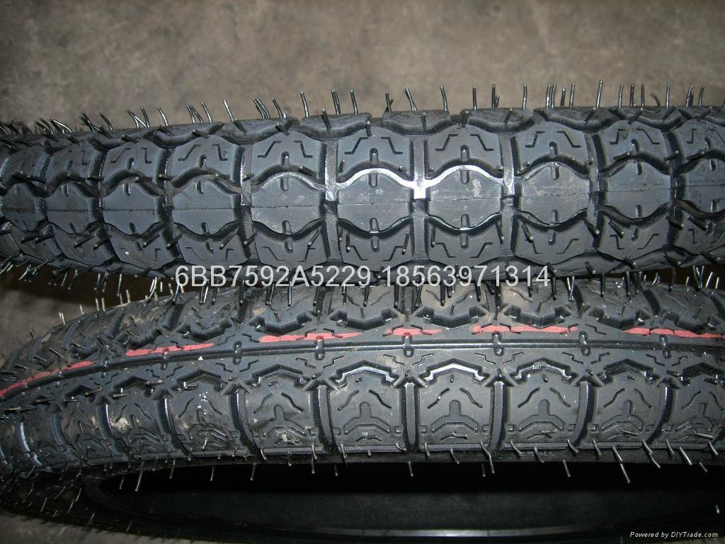 高品質摩托車輪胎300-18 4