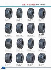 优质沙滩车轮胎ATV轮胎25x10-12