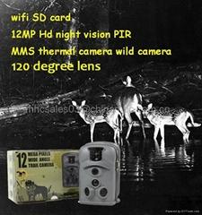 Mini Wifi Camera Thermal Night Vision Hunting Camera