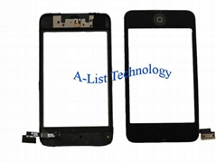 For iPod Touch iTouch 2nd Gen Digitizer & Bezel Assembly