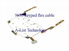 Keypad Button Flex Cable Ribbon For Blackberry 9630