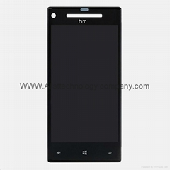 for HTC 8X LCD Touch Screen Assembly