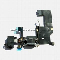 for iPhone 5 Charging Dock Headphone Jack Mic Antenna Flex