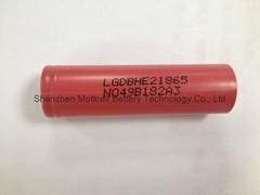 LG HE2 18650 electronic cigarette battery