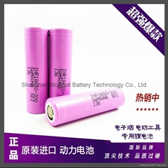 SAMSUNG INR18650 30Q 3000mAh 3.6V 20A discharge current