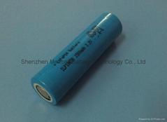 太阳能路灯磷酸铁锂电池IFR18650 1500mAh 3.2V