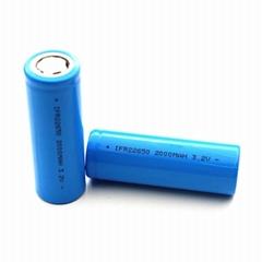 太陽能磷酸鐵鋰電池22650 2000mAh 3.2V