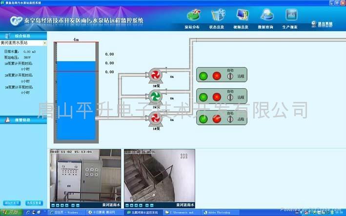 增压泵房信息化系统  2