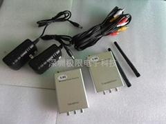 5.8G无线音视频监控收发机