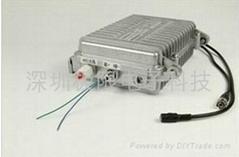 防水3w2.4G带485云台控制无线音视频传输收发器