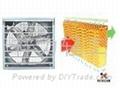 北京廠房通風降溫負壓風機濕帘系統 1