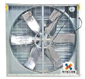 北京廠房通風降溫負壓風機濕帘系統 2