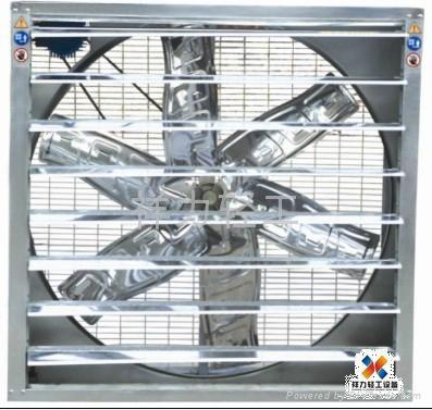 北京廠房通風降溫負壓風機濕帘系統 4