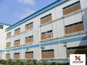 北京廠房通風降溫負壓風機濕帘系統 5