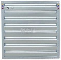 高大廠房降溫通風負壓風機濕帘系統