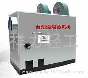 自動燃煤熱風機