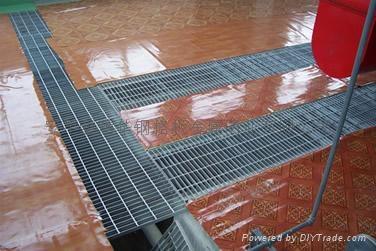 供应造纸厂用钢格板 5
