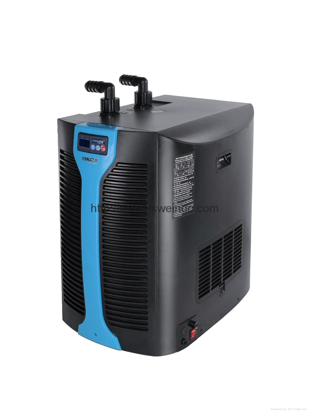 mini water chiller for 1000l fish tank wn 1c1000cn