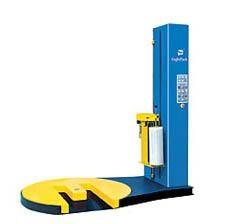 自动预拉伸叉车槽型缠绕包装机