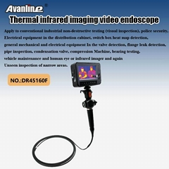 Thermal infrared imaging video endoscope