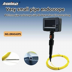 4.2mm pipe borescope side 90 degree lens