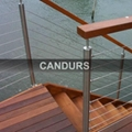 Stainless Steel Wire Rope Balustrade