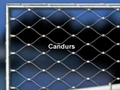 Inox Cable Mesh Tubular Frame