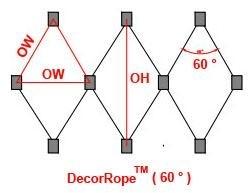 DecorRope Mesh Structure