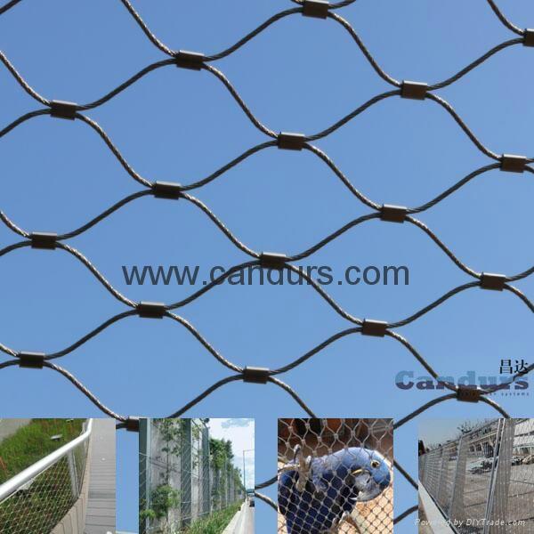 套环网-不锈钢丝绳套环网 8