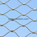 1.5 mm 200 mm x 250 mm Architectural Flexible Stainless Steel Rope Net
