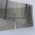 3 mm 140 mm x 240 mm Stainless Steel Cable Sleeve Mesh