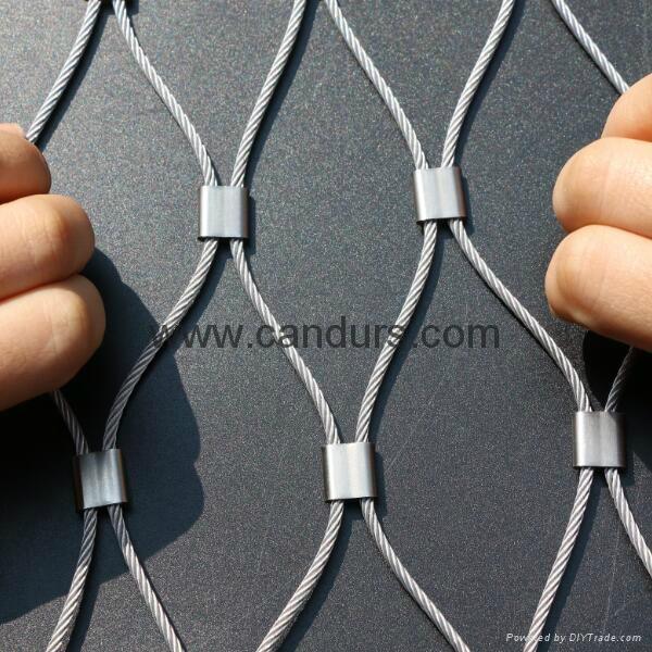 不鏽鋼柔性防護網 3