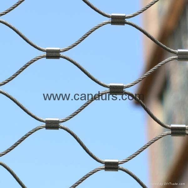 柔性安全绳网 4